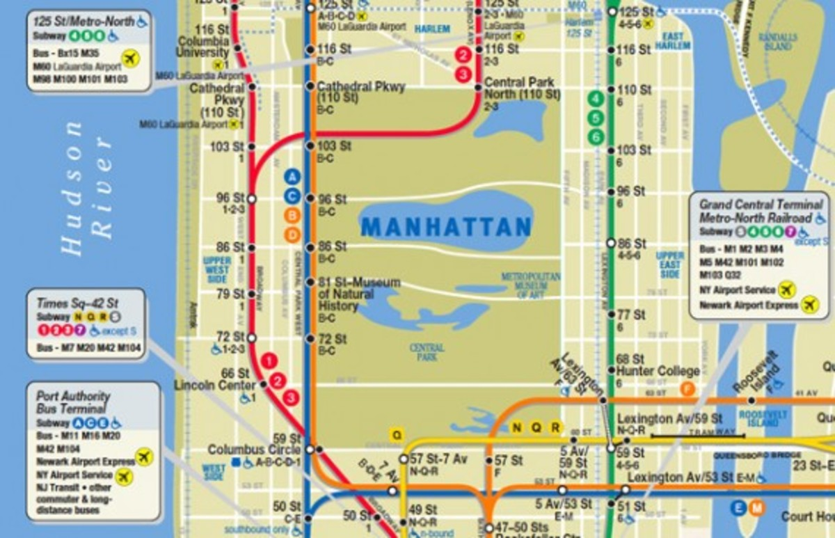 New York City New Subway Map Services Changes Freshness Mag