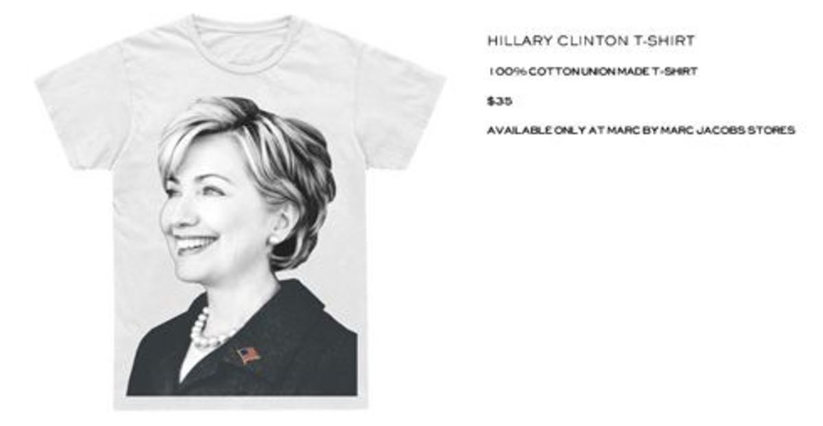 Marc Jacobs for Hillary Clinton - T-Shirt