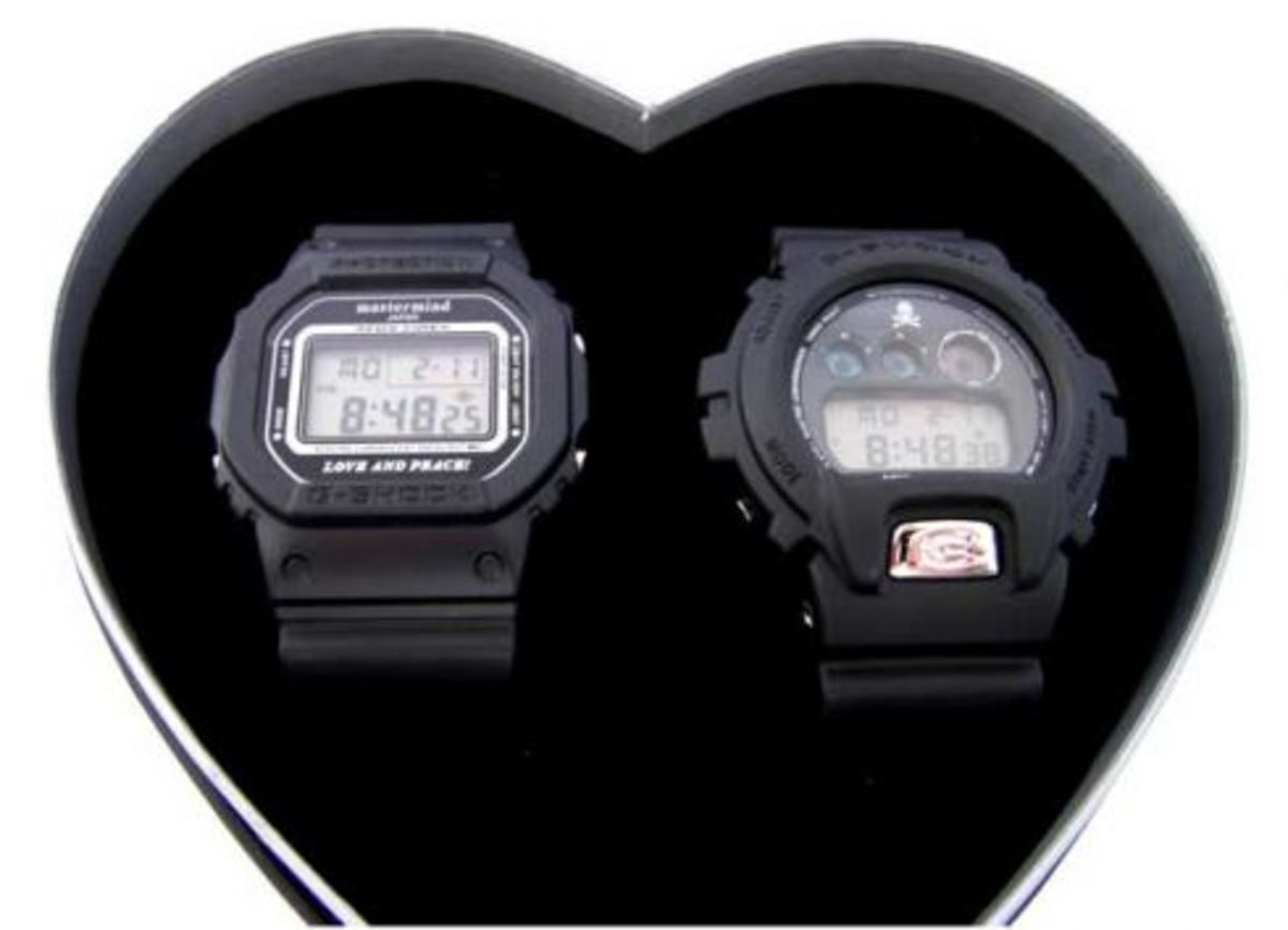 mastermind JAPAN x Casio G-Shock - Valentine's Set - 1