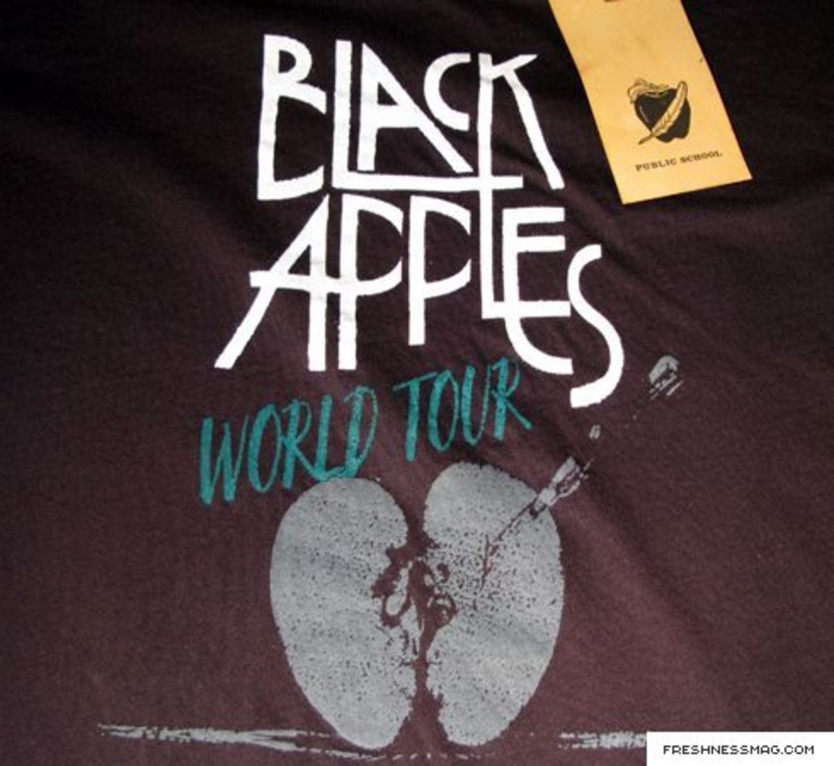 Public School - Black Apples T-Shirt