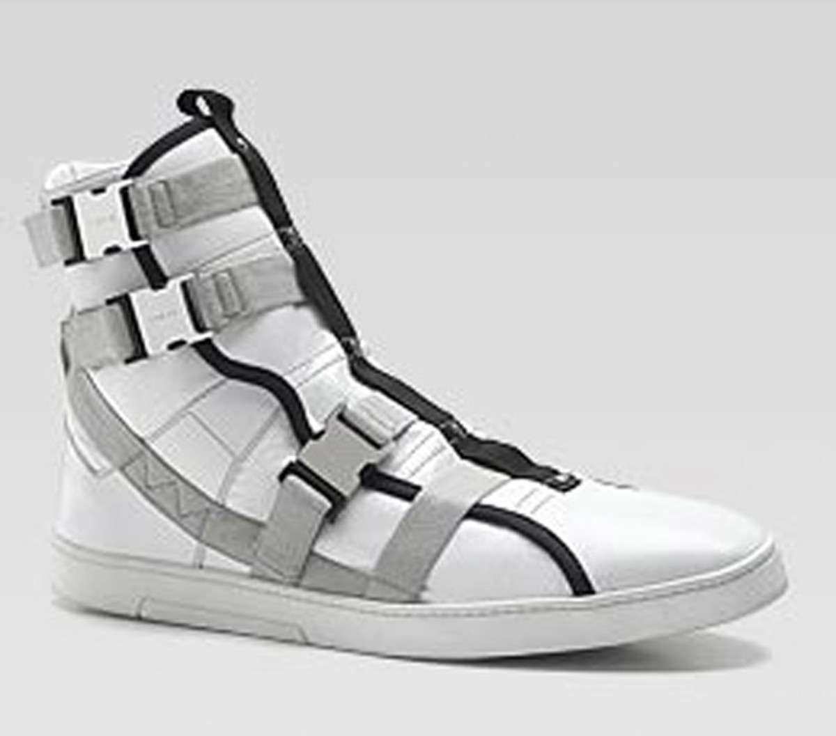 4f0c85afec3 GUCCI - Spring Summer 2010 - GSB9 High Top Buckle Sneakers - Freshness Mag