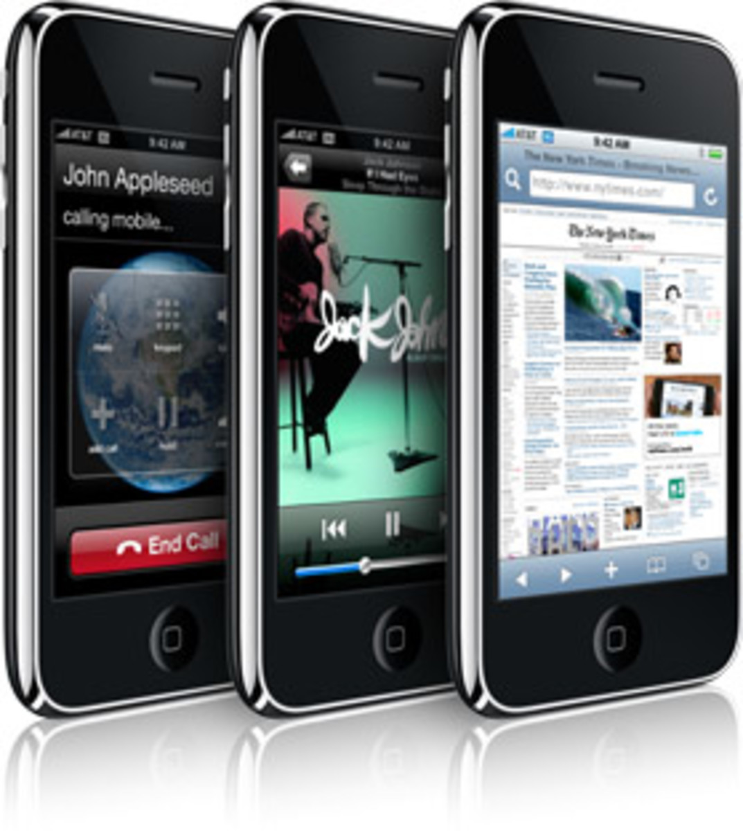 Apple - iPhone 3G - 1