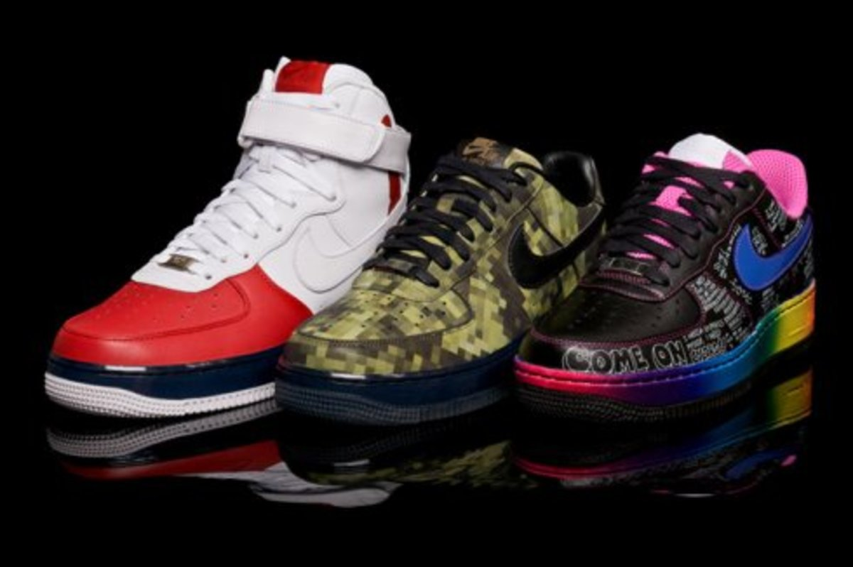 Nike 1World - Air Force 1 Influencer Pack - 4