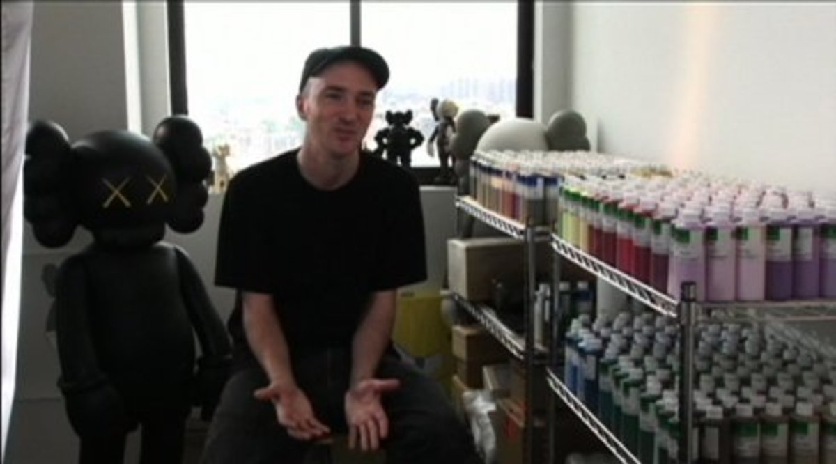 KAWS x i-D Magazine - Video Interview - 0