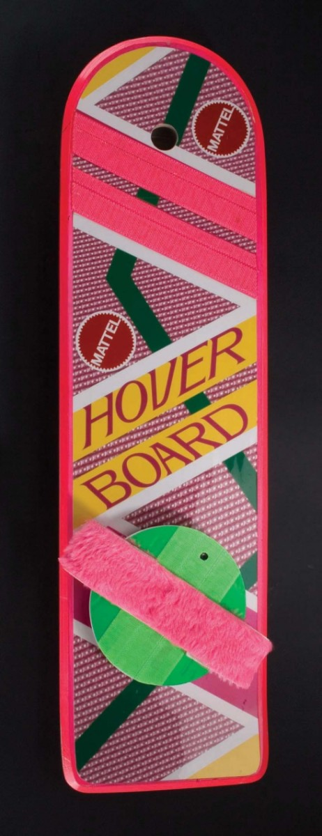eBay - Back to the Future 2 - Marty McFly Hoverboard Auction