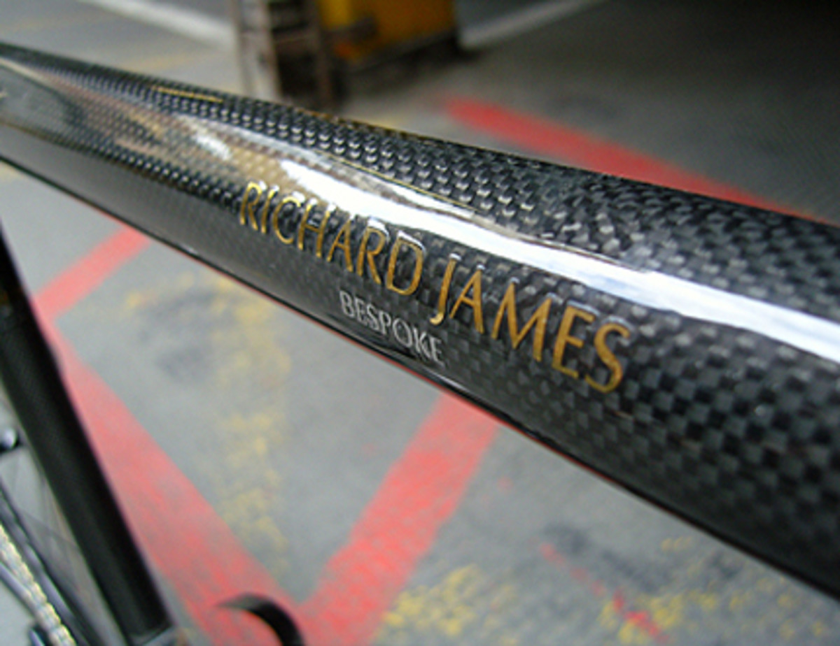 Richard James x Condor Cycles - Carbon Fiber Custom Bike