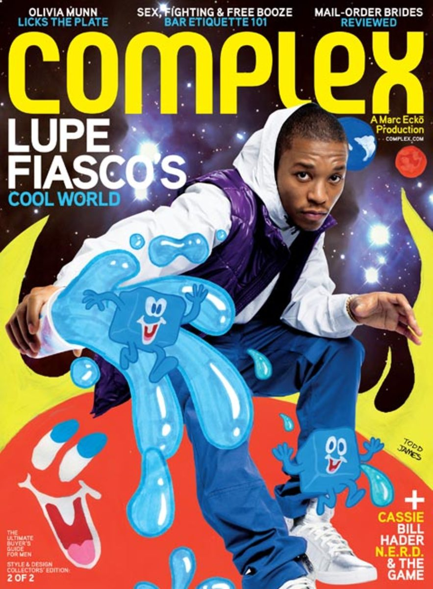 Complex x REAS x Lupe Fiasco - Freshness Mag