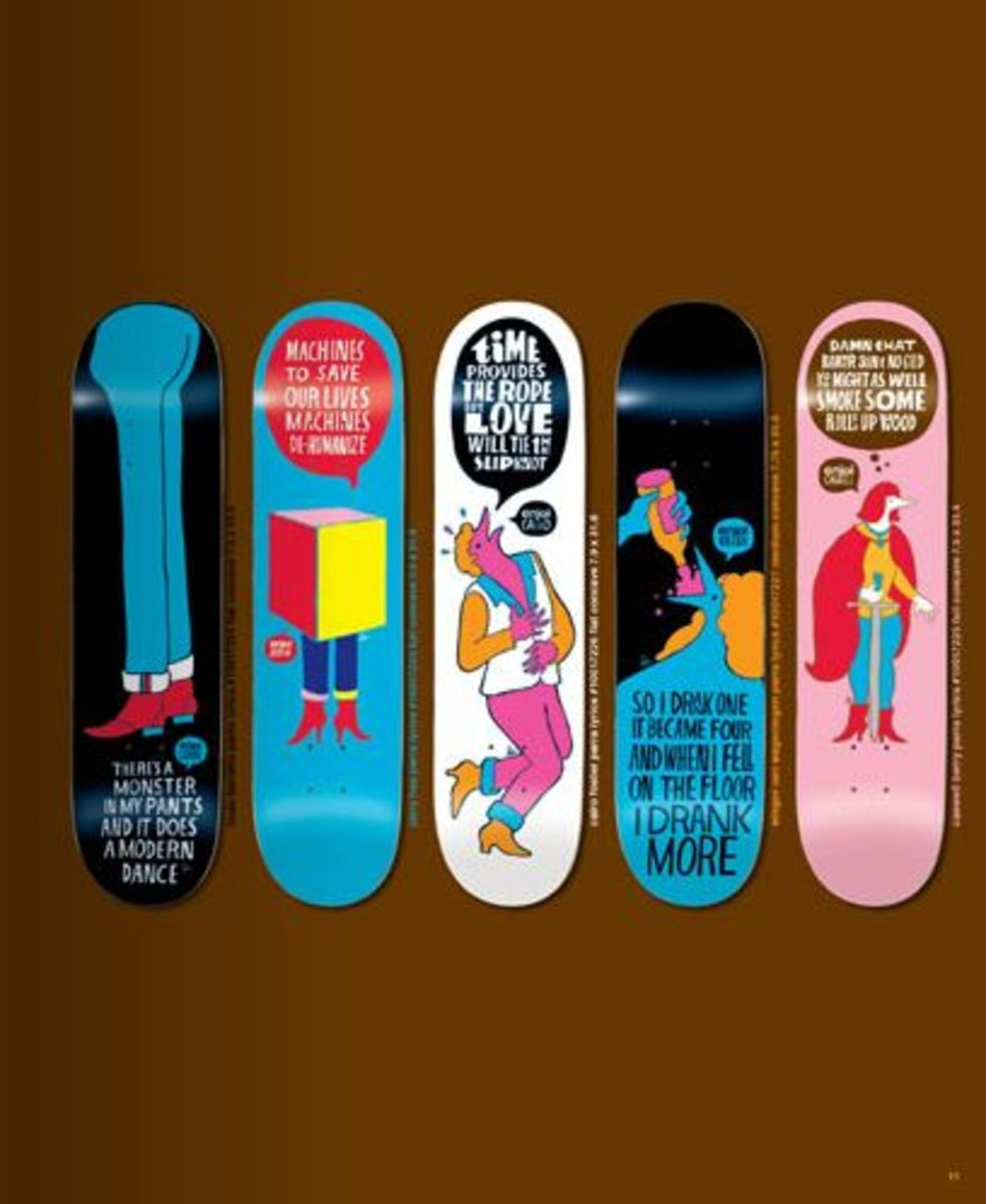 Parra x Enjoi Skateboard Decks