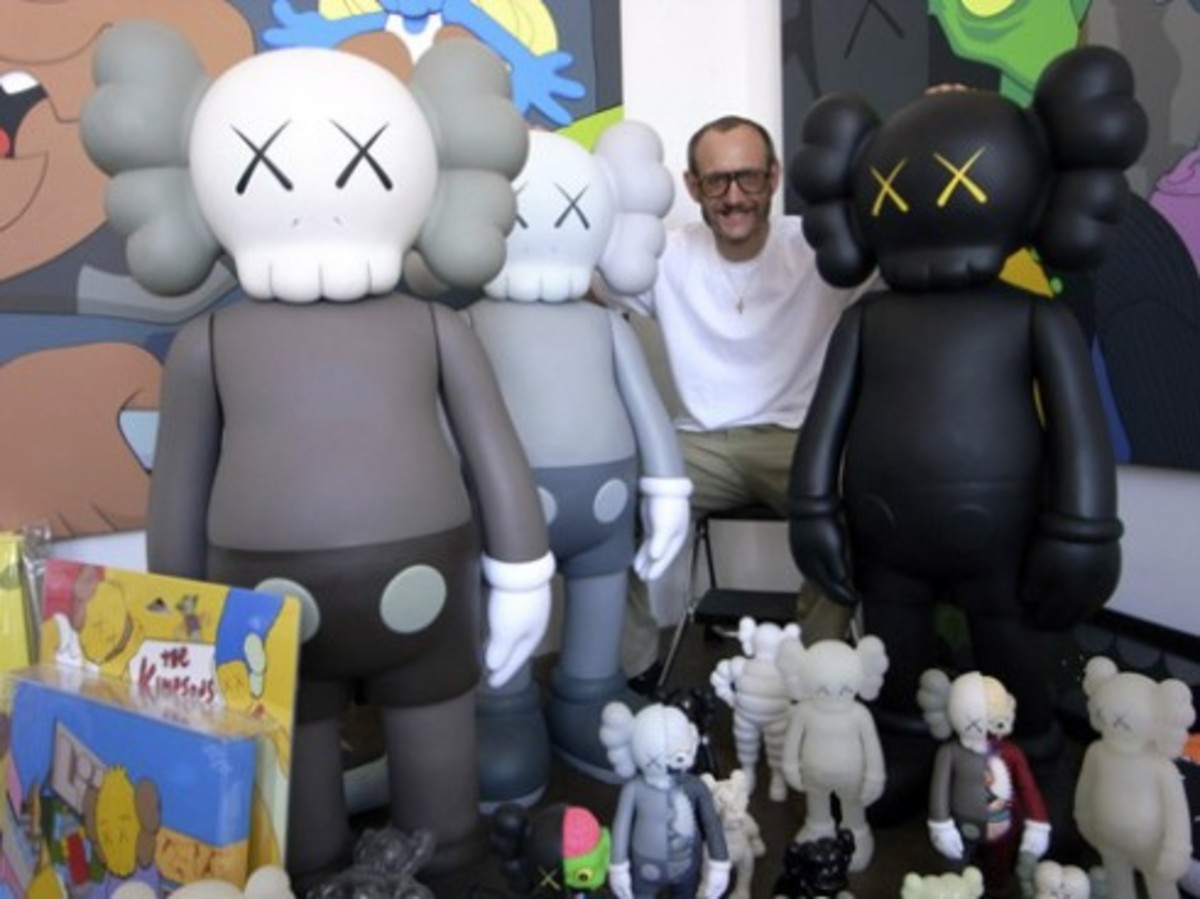 KAWS x Terry Richardson - ANPQuarterly Feature - 1