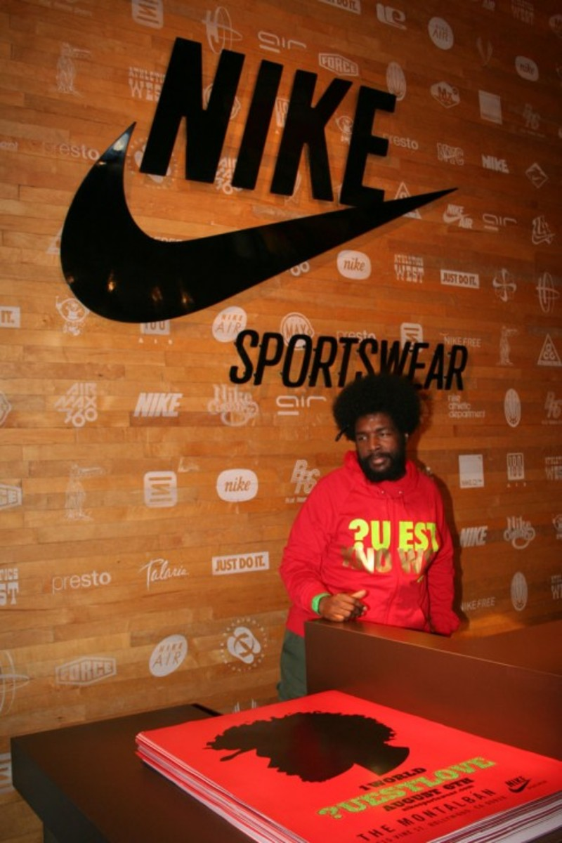 Questlove Air Force 1 Release Recap at Montalban Theatre