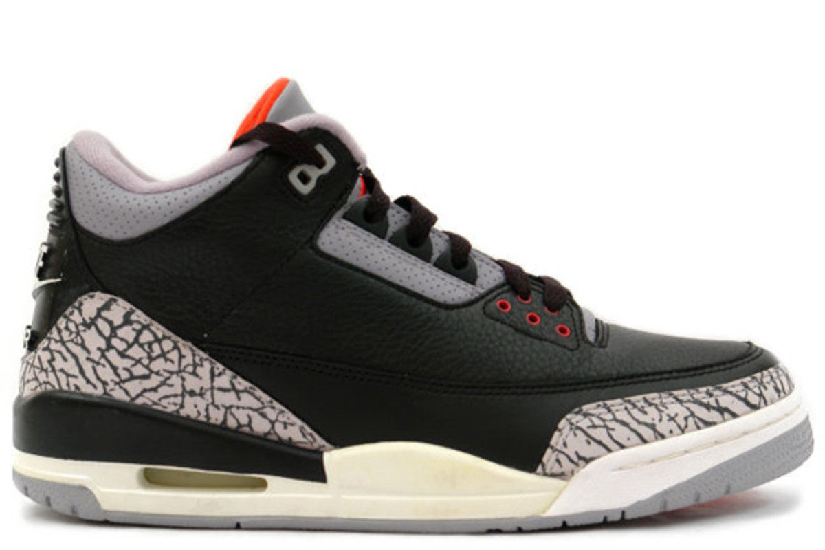 the best attitude 0953c 68186 Air Jordan III (3) Retro - Black/Cement Grey | Confirmed For ...