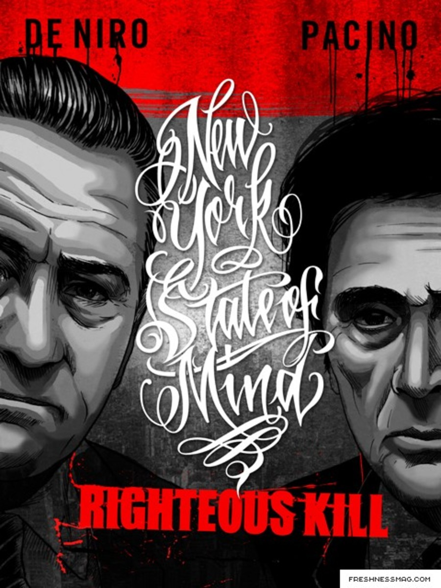 Mister Cartoon - Righteous Kill Poster - Limited Edition
