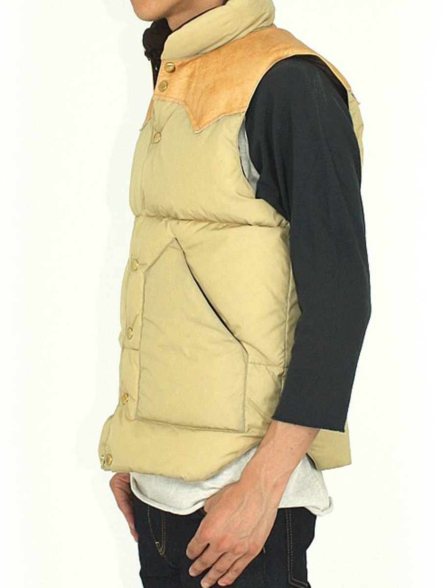 Rocky Mountain Featherbed Co. x BEAMS - Down Vest SP
