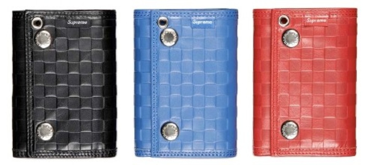 PORTER x Supreme - Woven Leather Wallets - 0