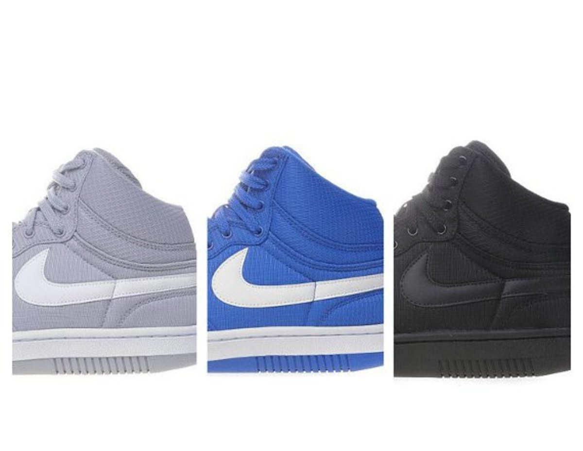 los angeles 54977 1f207 In the hierarchy of Nike basketball shoes with their origins in the  80s,  the Court Force Hi finishes a distant third to the Dunk and Air Force 1.