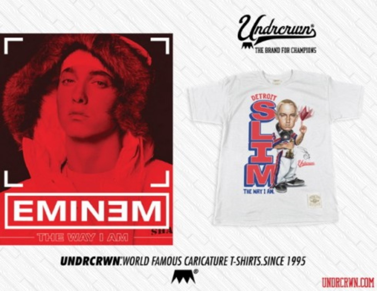 UNDRCRWN x Eminem - The Way I Am T-Shirt - 0