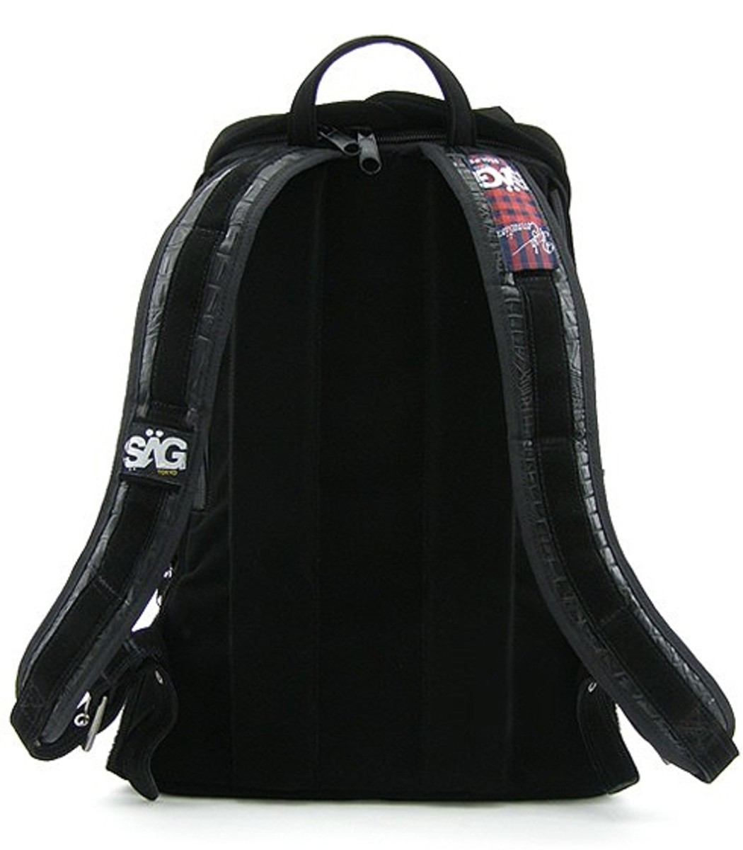 SAGLIFE (SAGLIFE) x PUSH CONNECTION - Velvet Backpack