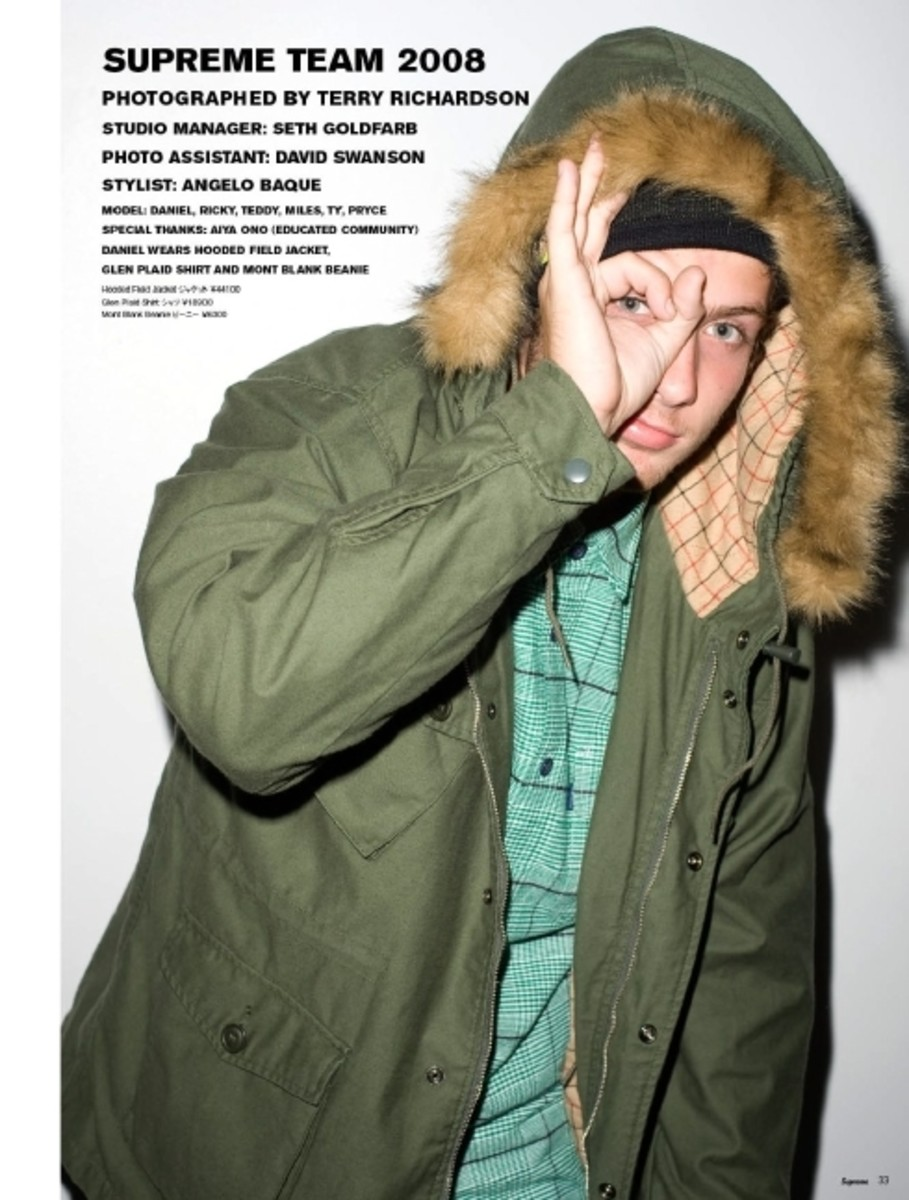 Supreme Magazine 08 by Terry Richardson - 1
