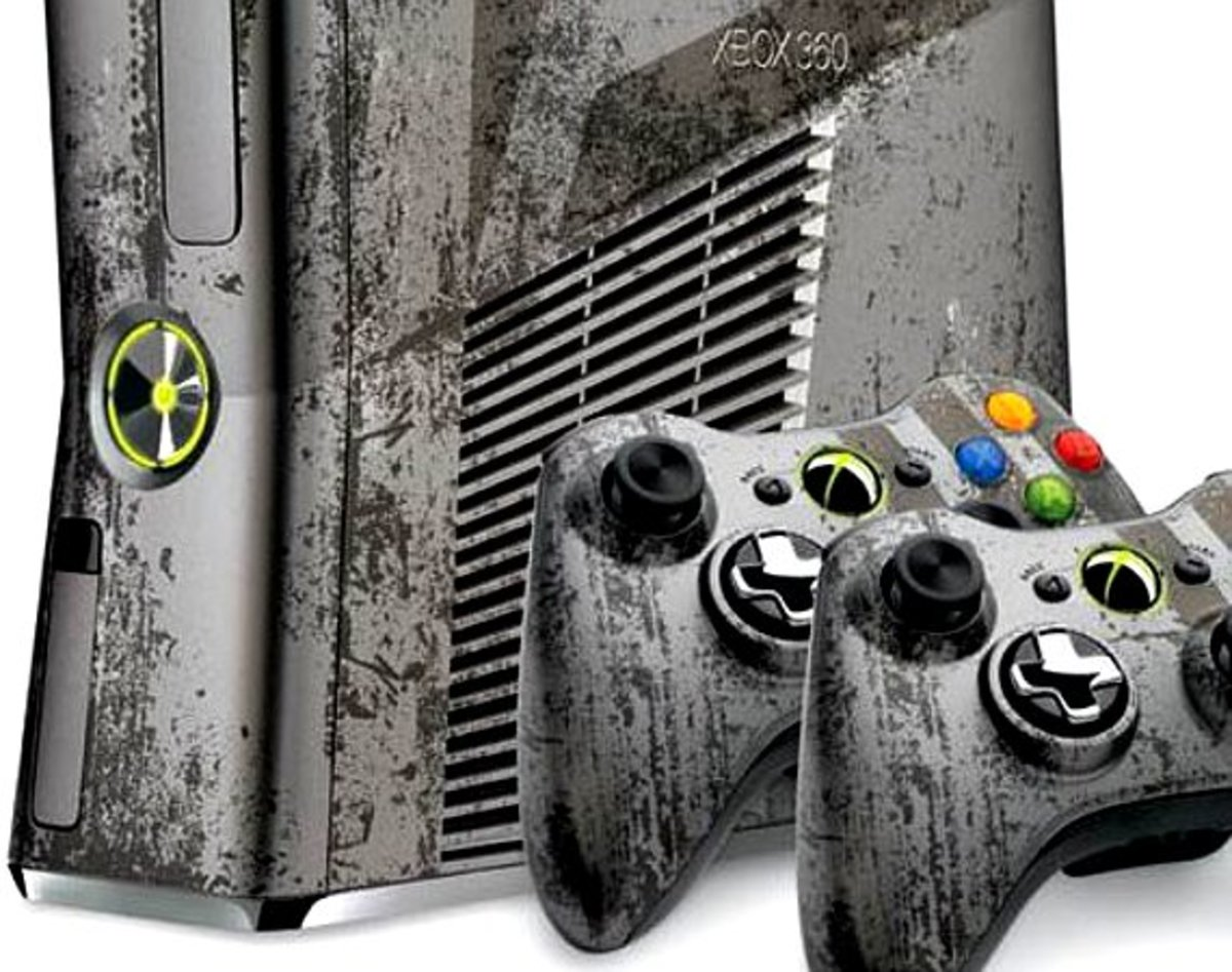 Xbox 360 Limited Edition Call Of Duty Modern Warfare 3 Console Freshness Mag