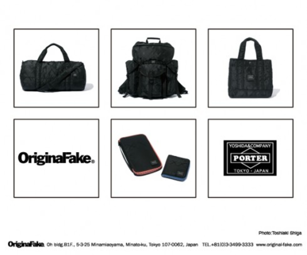 OriginalFake x PORTER - A/W 08 Accessory Collection - 0