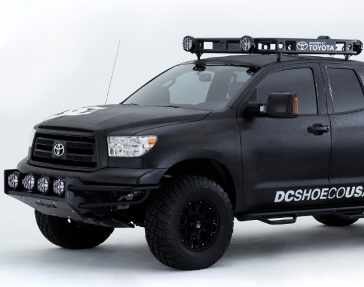 Dc Shoes X West Coast Customs X Toyota Ultimate Motocross