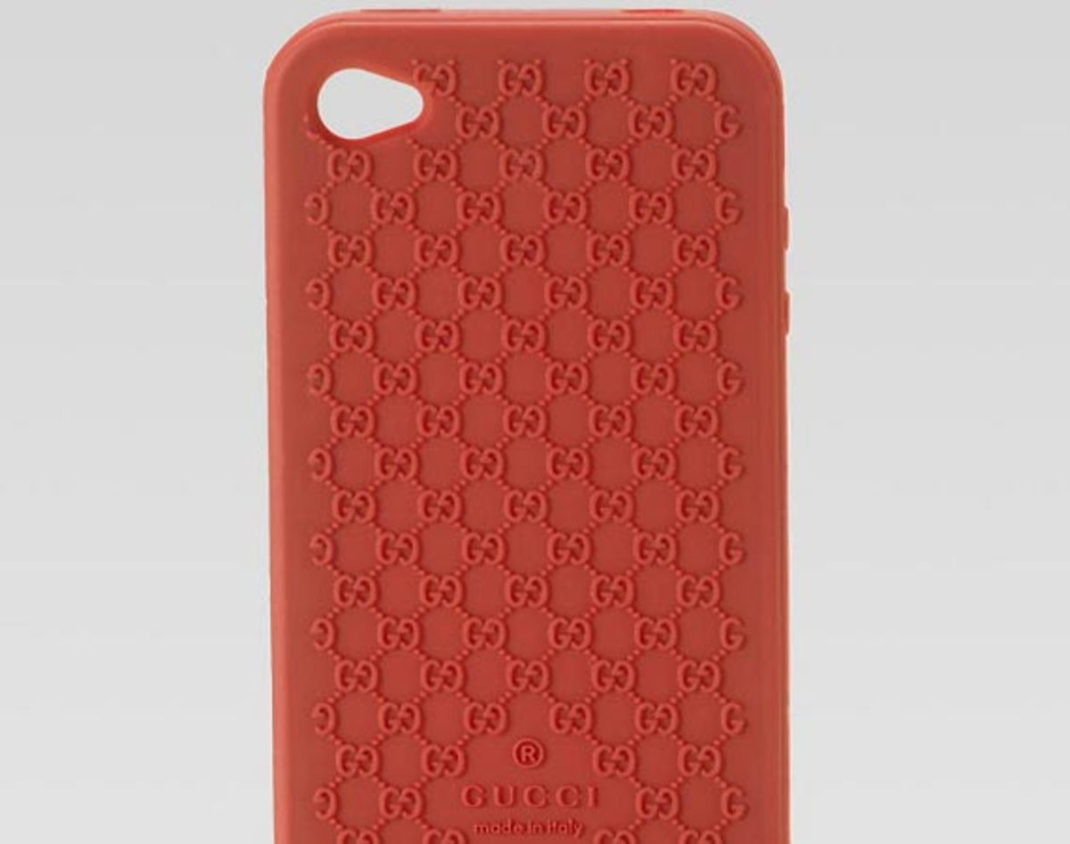 Gucci Apple iPhone 4 Silicone Cover
