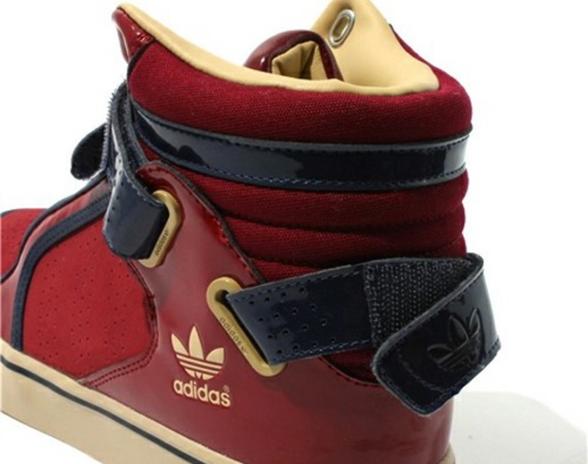 ebf1aabd6375 The adi-Rise by adidas Originals is a fashion forward sneaker with street  basketball roots. Two new colorways give the shoe a glossy makeover