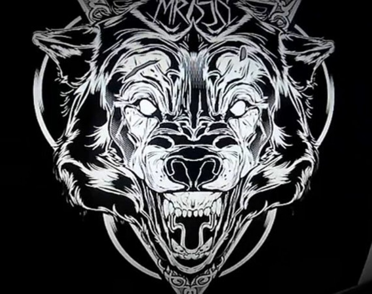 Hydro74 Quot Wolf Quot Illustration Time Lapse Video Freshness Mag