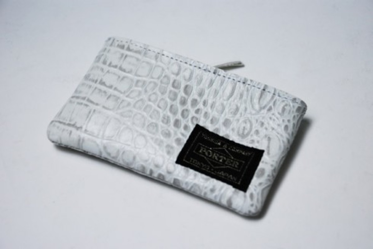 HEAD PORTER - White Croco Collection - 3