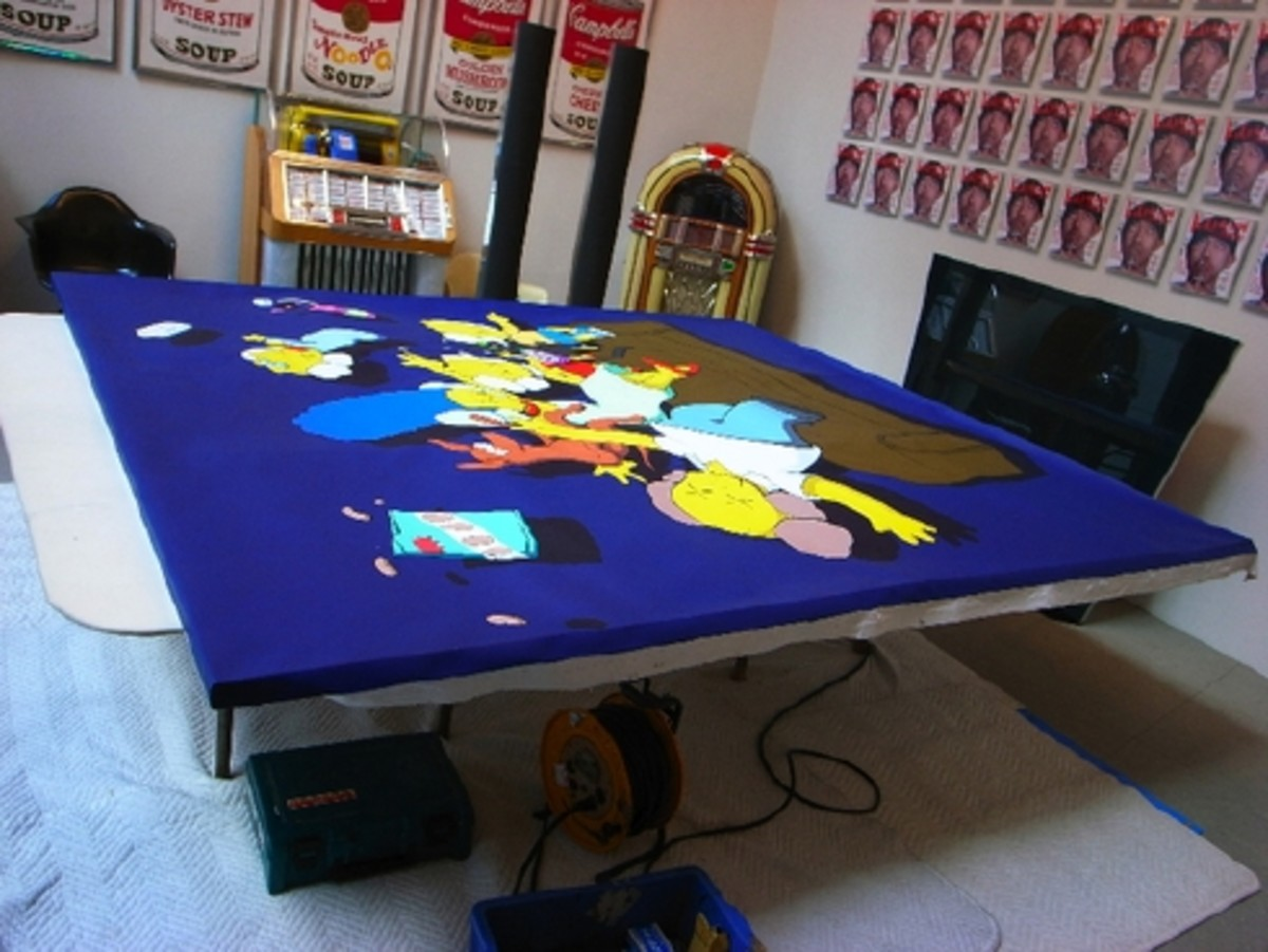 KAWS - Kimpsons Painting for Nigo - 4