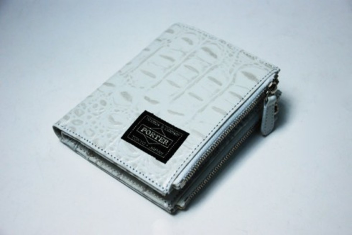 HEAD PORTER - White Croco Collection - 2