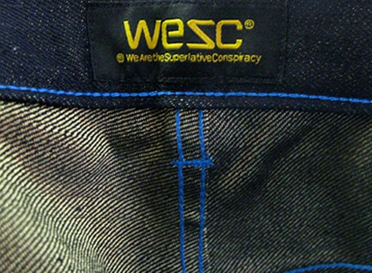 We Are the Superlative Conspiracy (WeSC) x Stash - Real Gold Japanese Selvage Denim