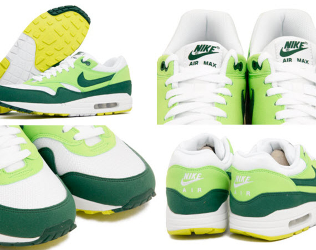 official photos 7427e 65a56 Nike Air Max 1 ND - White Gorge Green Action Green - Freshness Mag
