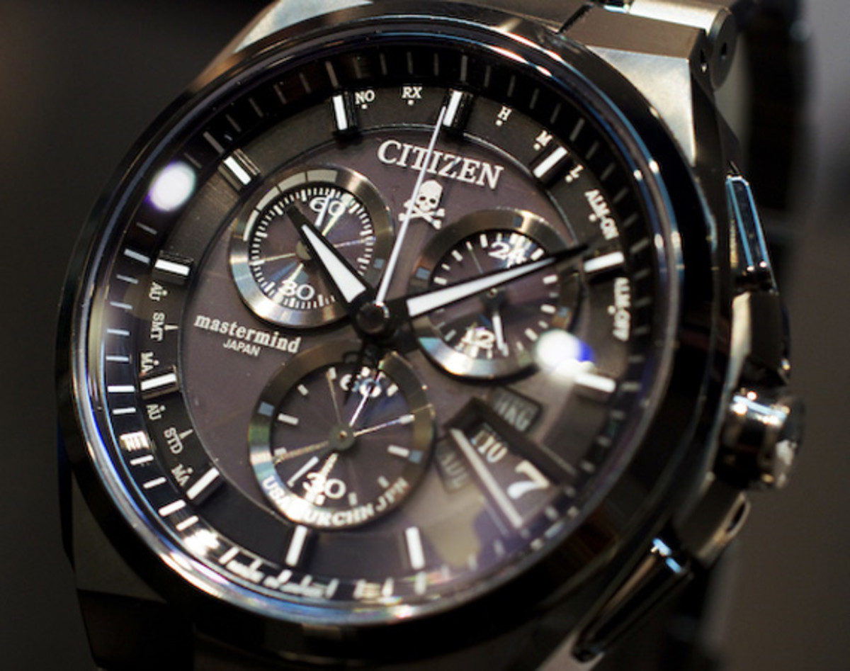 mastermind japan x citizen attesa