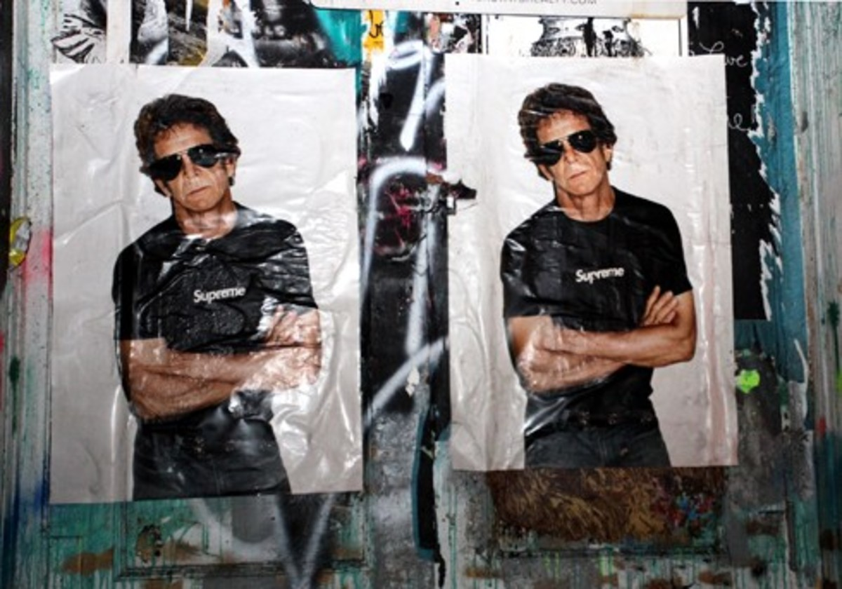 Lou Reed for Supreme