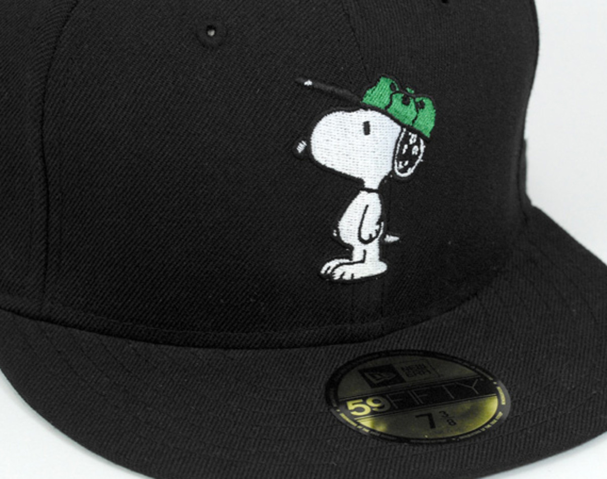 7dfc42bd8e0 Peanuts x New Era x On Spotz - Snoopy 59FIFTY Fitted Cap - Freshness Mag