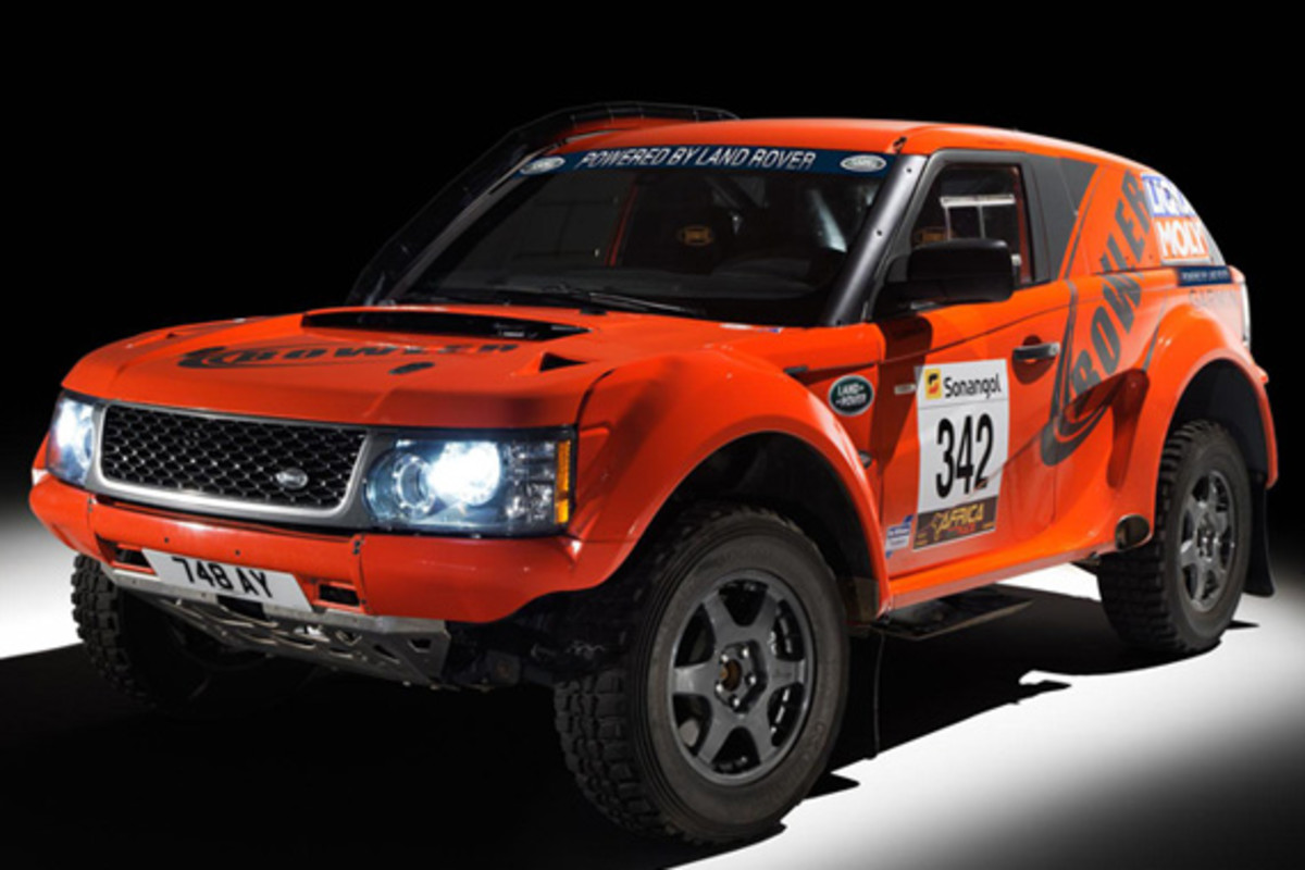 Bowler Motorsport X Land Rover Sport - Exr Off-road Rally Car