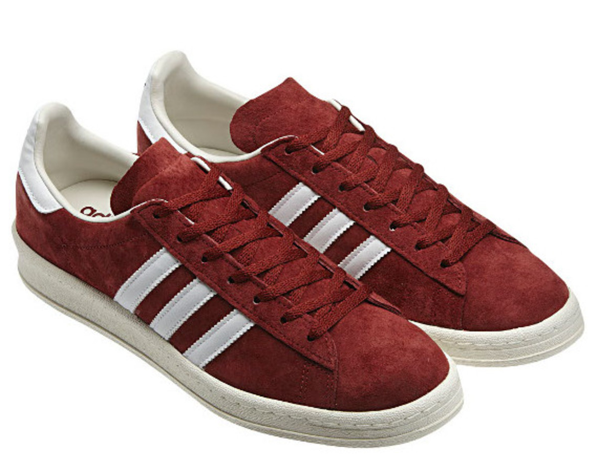 huge selection of 115f4 42555 For FallWinter 2012 adidas Originals debuts the Burgundy Pack, featuring a  trio of classic sneaker styles finished in the perfect autumn hue.