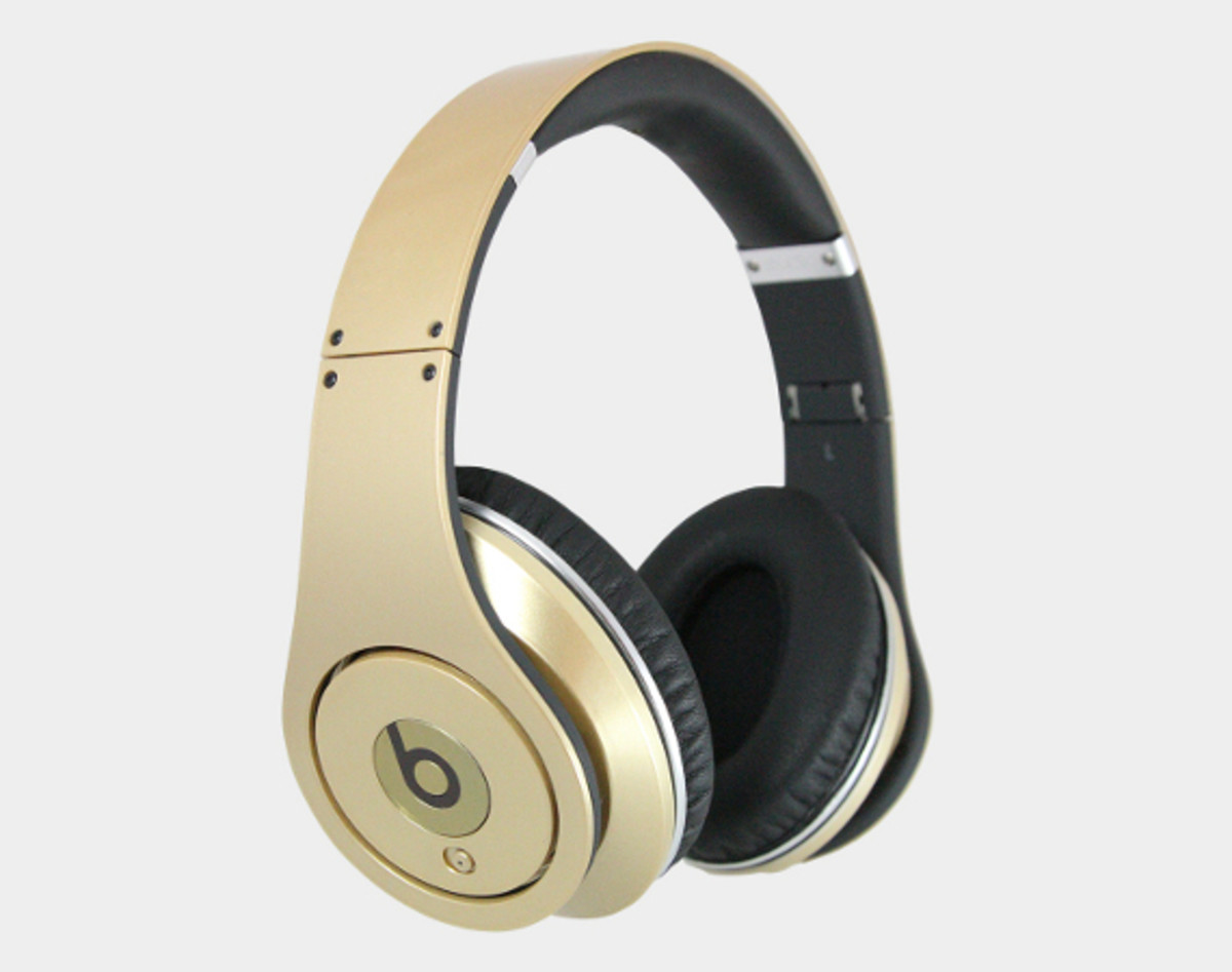 Beats by Dr  Dre Studio Headphones - Gold Medal Edition