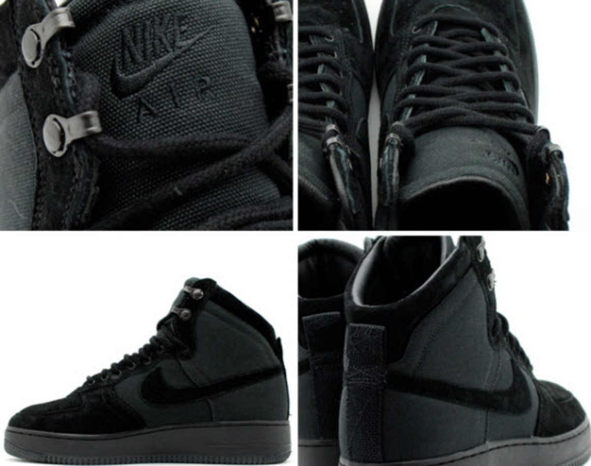 Nike Air Force 1 Hi Deconstruct Military Boot Black Freshness Mag
