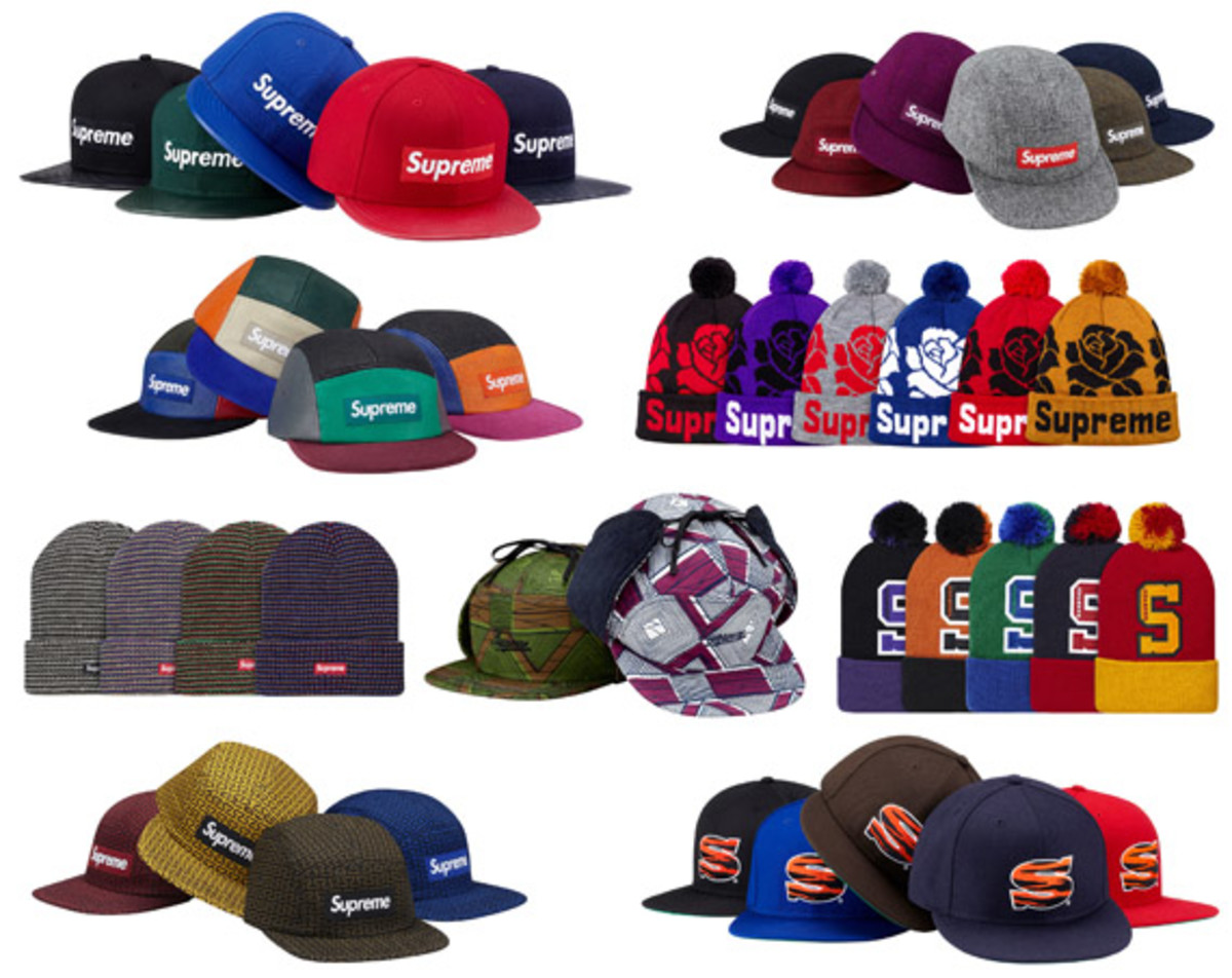 211978ac13d Supreme - Fall Winter 2012 - Caps   Hats - Freshness Mag