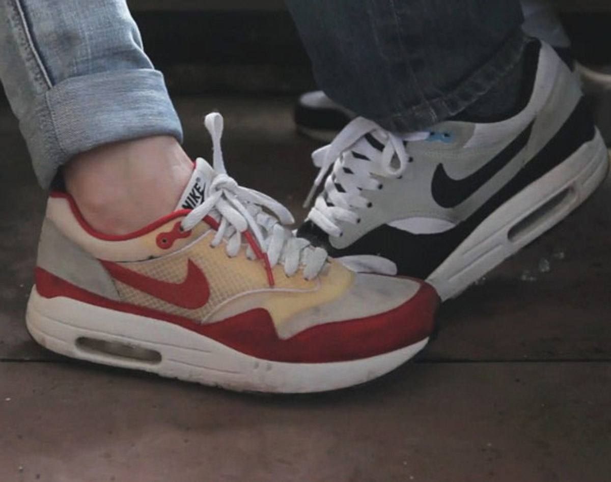 quality design a3c2b 8961e The Nike Air Max 1 -- aka the Air Max 87, aka everyone s favorite retro Nike  runner -- is celebrating its silver anniversary this year, and three young  ...