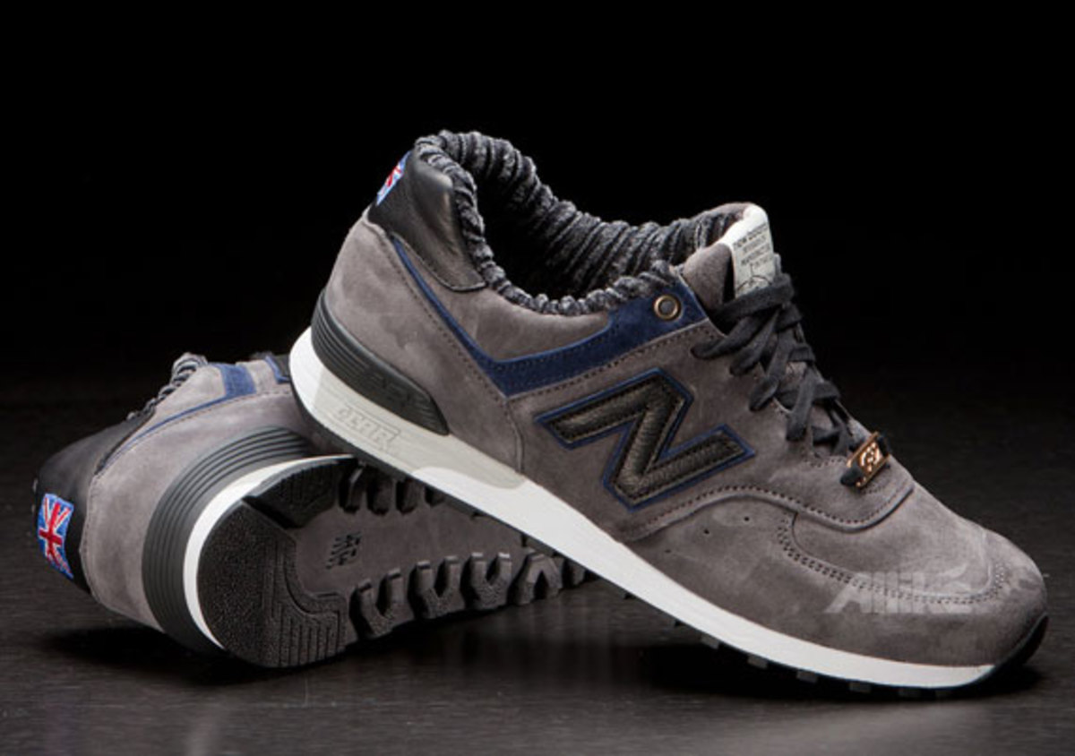 A ribbed textile lining, plus special New Balance tongue tag and Union Jack heel detail, round out the unique features. The New Balance M576RBT is in stock