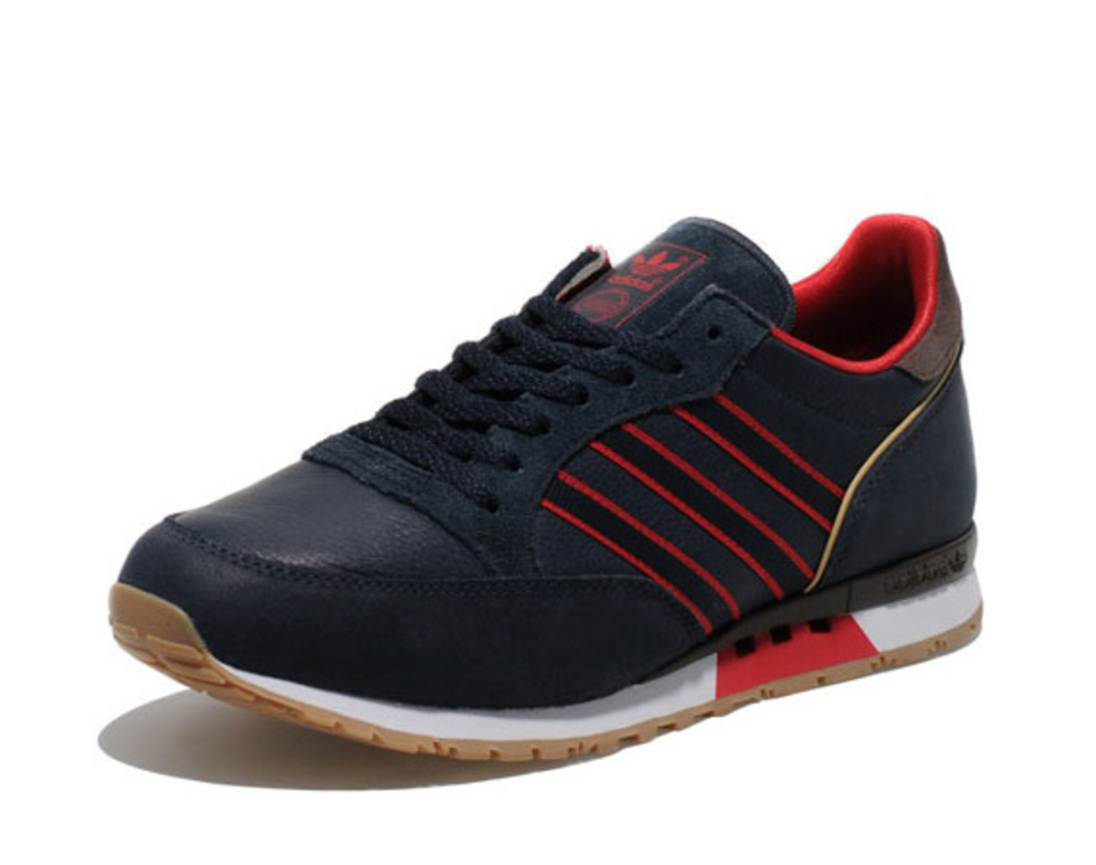 detailed look 6fcfb 543ca As part of the retailer s ongoing Adi s Archive Collection from adidas  Originals, size  has released a handsome navy-based colorway of the adidas  Originals ...