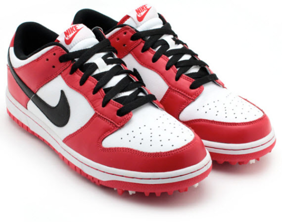 Nike Dunk Golf Shoes Orange