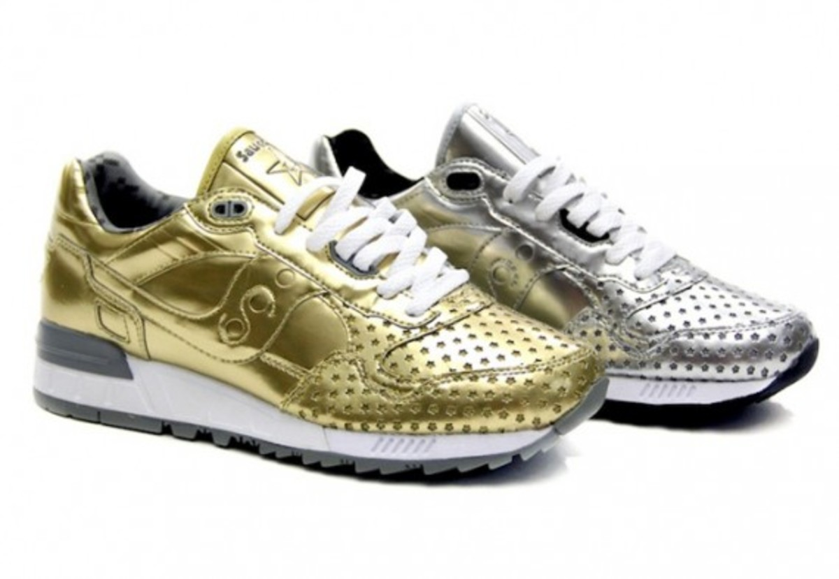"Play Cloths x Saucony Shadow 5000 - ""Precious Metals"" Pack 