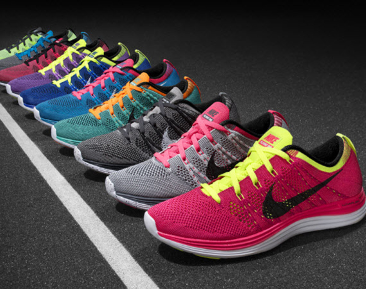 6bf36de6b553 The first generation Nike Flyknit sent shockwaves throughout the sneaker  and running world with its innovative design and lightweight body