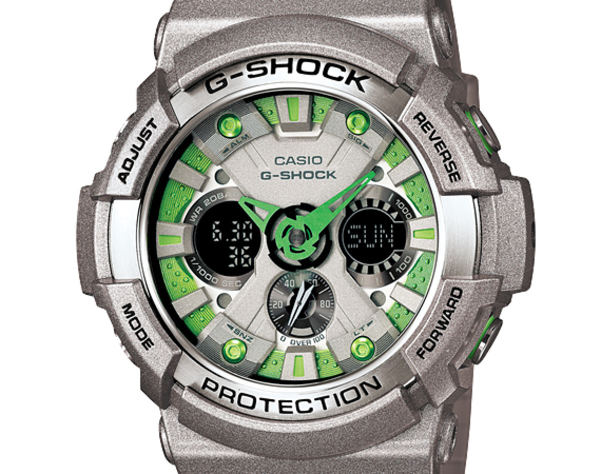 Casio G-Shock GA-200SH Watch - Spring 2013