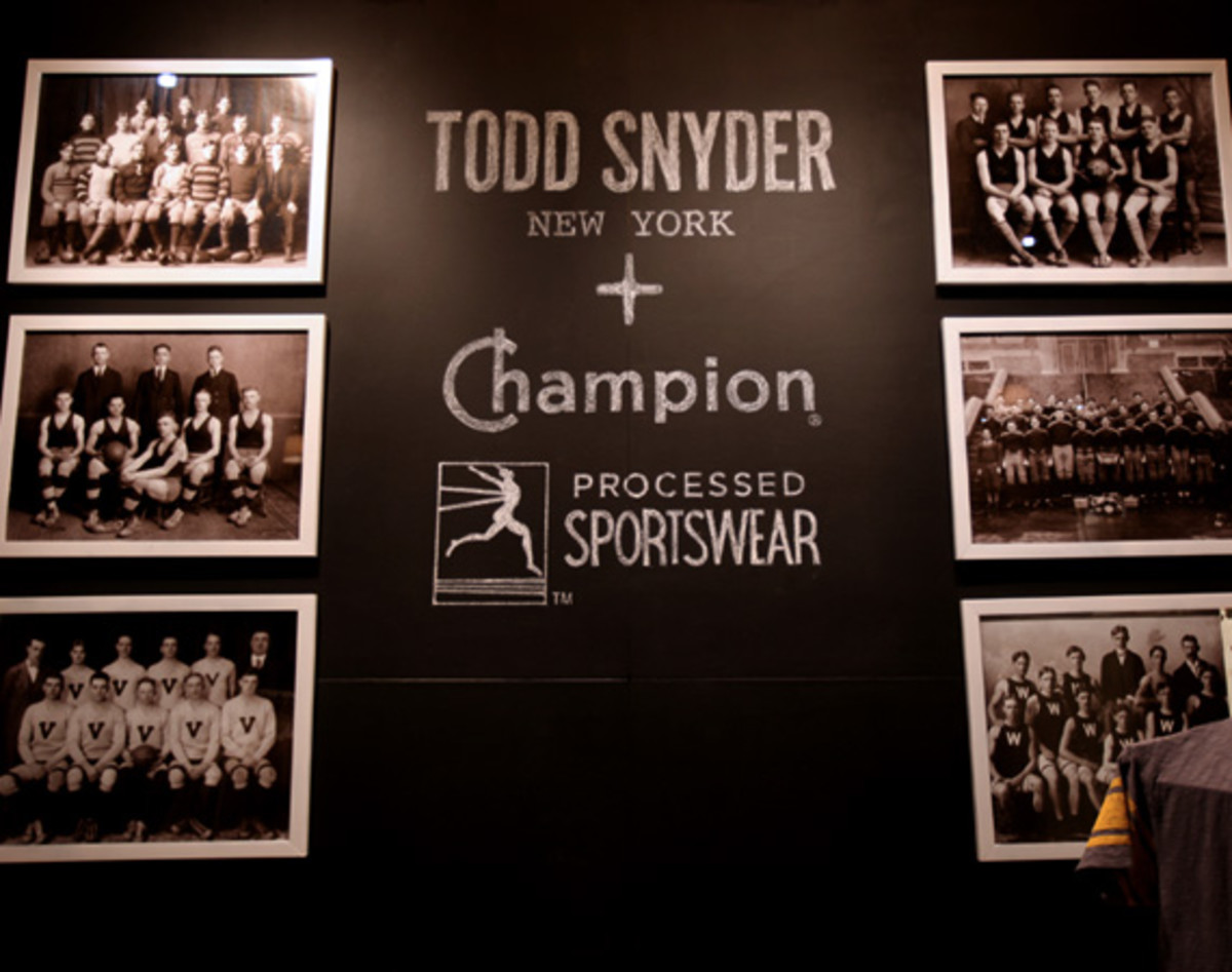 "PROJECT Show New York  Todd Snyder x Champion ""City Gym"" Collection - 3"