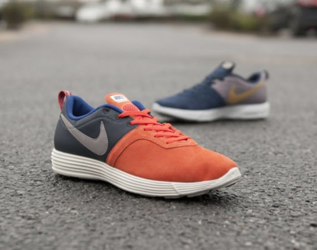 hot sale online b5188 4a278 Past meets present with these two new Nike Lunar Montreal s, out for  January 2013. A smooth combination of a racer and a trainer that will have  your feet ...